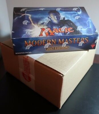 MTG Magic the Gathering Modern Masters 2017 Sealed 2-Box Inner Booster Case