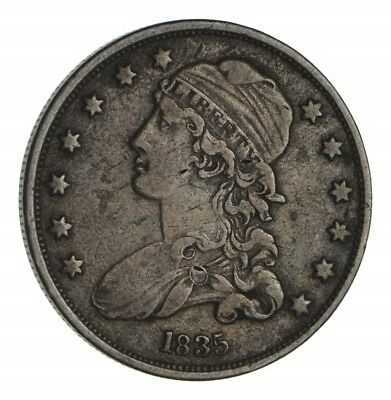 1835 Capped Bust Quarter - Circulated *1345