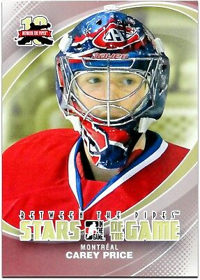 2011-12 Between The Pipes - CAREY PRICE #90