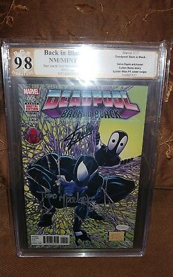 Deadpool Back in Black #5 2016 Marvel 1st print PGX 9.8 SS.