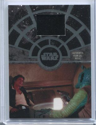2017 Star Wars 40th Anniversery Film Cell Greedo Confronts Han Solo #1/1 FCC-22