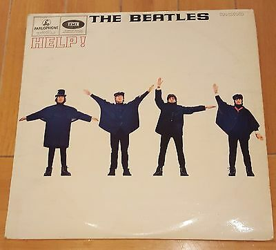 THE BEATLES Help! LP Parlophone UK Mono 1965 1st Press!