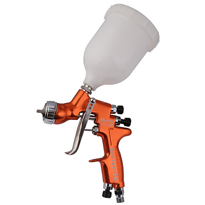 Devilbiss HVLP spray gun HD-2 with 600cc cup 1.3mm nozzle and yellow handle