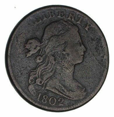 1802 Draped Bust Large Cent - Circulated *1307