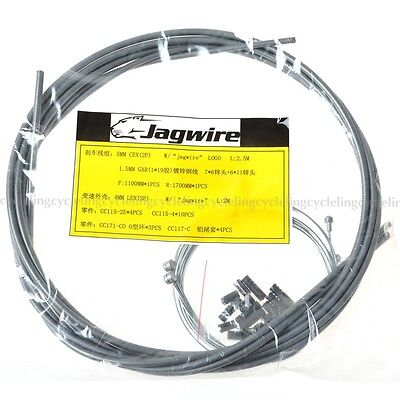Jagwire Cable Hose Kit Brake Shifter Gray