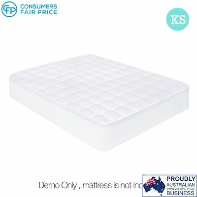Cotton Cover Mattress Protector – King Single