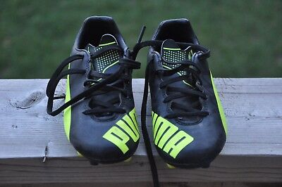 Puma evoSPEED 5.4 FG Youth Soccer Shoes Style 103293-05 Size 12C Toddler - USED
