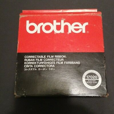 Brother Correctable Film Ribbon 17020 Black