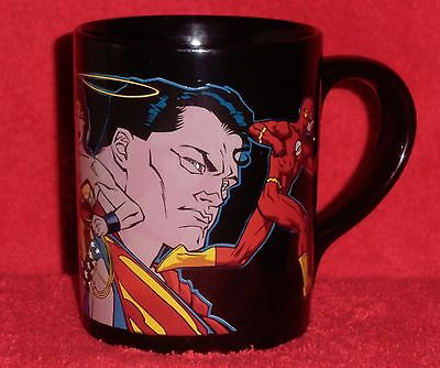 Warner Bros. Store Justice League mug Superman, Batman, Wonder Woman, The Flash