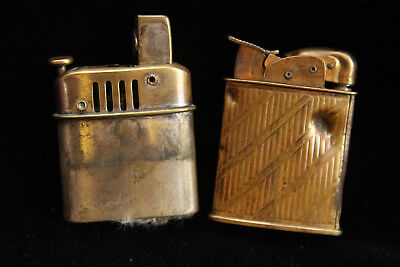 Vintage Evans Lighter with Bullet Wounds - Other Unkown Maker Parts