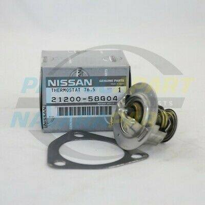 Genuine Nissan Patrol Thermostat GQ GU TD42 TD42T TD42TI with Gasket (2120058G04