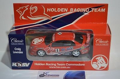1:43 scale Craig Lowndes #1 HRT Racing Holden Commodore RED by Classic C. HSV