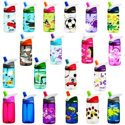 CamelBak Eddy Kids 400ml Water Spill Proof Bottle - Child Safe 100% BPA Free
