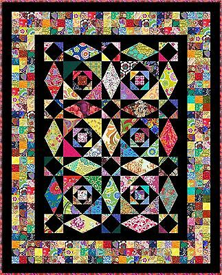 "INTRINSIC - 72"" x 58"" - Pre-cut Quilt Kit by Quilt-Addicts Single size"