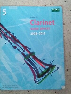 Selected Clarinet Exam Pieces 2008-2013 Grade 5 ABRSM Publishing