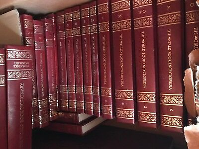 The World Book Encyclopaedia A-Z Set Plus More