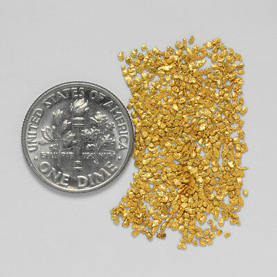 0.6388 Gram Alaskan Natural Gold Nuggets - (#20968) - Hand-Picked Quality
