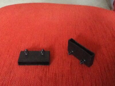 spare bed parts plastic side slat holders black X2 (multiple available)