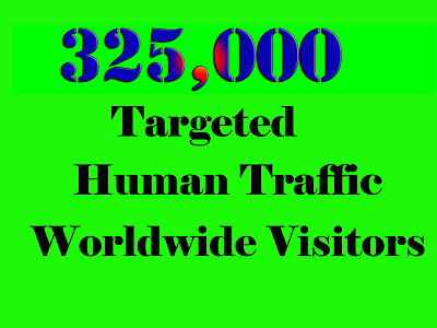 Genuine Unlimited Daily 10,000+ Website Traffic for one Month
