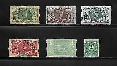 Collection Of Mauritania Stamps Used And Unused