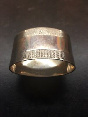 solid silver napkin ring (hallmarked) 44.79 grams