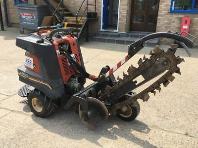 Ditchwitch RM150 Zahn Stand On Articulated Trencher Digger