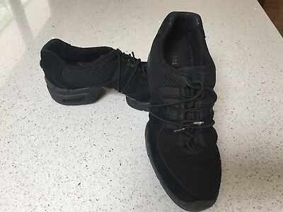 Bloch Classic Boost II dance sneaker black adult size 9.5 (uk) ladies