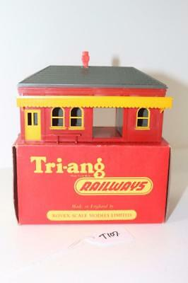Triang Early Red OO 1:76 R.60 Ticket Office Boxed  FNQHobbys T107
