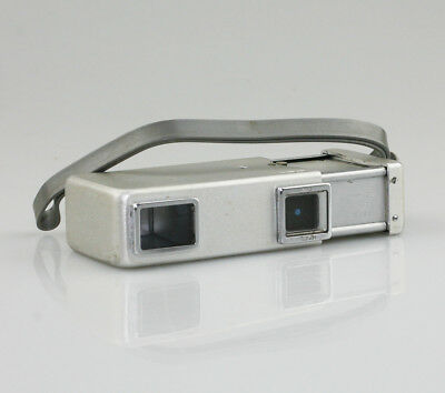 MINOLTA 16 Sub-Miniature 16mm Spy Camera in Chrome/Silver (PZ37)