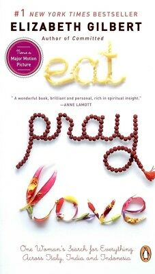 NEW Eat, Pray, Love by Elizabeth Gilbert [ Mass Market Paperback ] 445 Pages