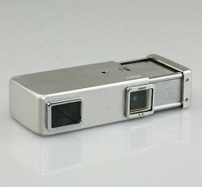 MINOLTA 16 Sub-Miniature 16mm Spy Camera in Chrome/Silver (PZ39)