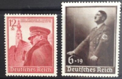 Germany Third Reich 1939 50th Birthday & Labour Day issues MLH