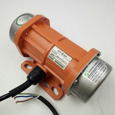 Hot AC220V Single Phase 15W-120W Aluminum Alloy Vibrating Vibrator Motor 3000rpm
