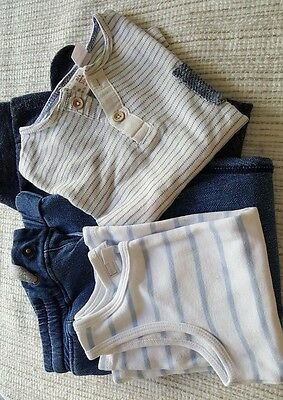 """Boys Zara"""" &""""little White Co."""" Tops And Trousers Size 2/3 3/4 Yrs"""