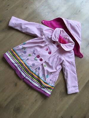 Gorgeous Girls Rain Coat Aged 3-4