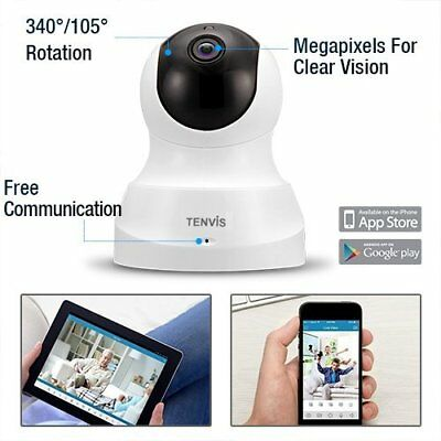 HD Wireless IP Camera Baby Monitor Night Vision Infant Security Motion Detection
