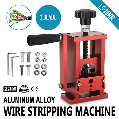 Manual Electric Wire Stripping Machine Recycle Tool  Local Stable Metal Cable