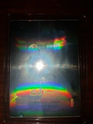 "Michael Jordan 1992-93 Upper Deck Mc Donalds ""HOLOGRAM PROMO"" INSERT MINT!!"
