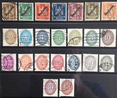Germany Officials 1924-1933 Used