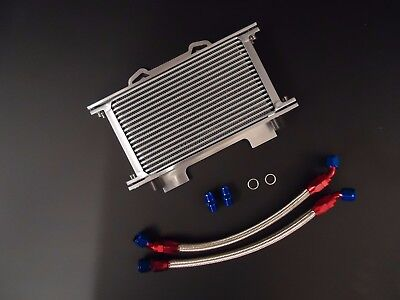 Suzuki GSF1200 Oil Cooler Kit Braided Pipes Mounting Bracket GSF 1200 Bandit RB