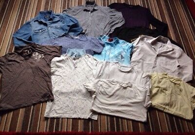 Clothing Bundle Men's Size S Mixed T.Shirts/Shirts & Jumper. 7 Items