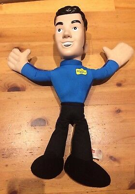 The Wiggles Singing soft plush toy cuddly doll anthony Wiggle Toy Doll 35 cm