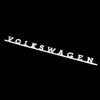 Vw Bus Splitscreen & Baywindow Rear Script Badge Camper Van Type 2 Split Bay