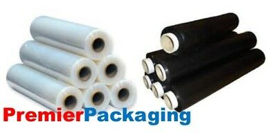 Palletwrap / Shrinkwrap 400mm x 250M 17mu available in black or clear