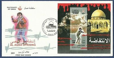 Oman Mnh 2001 Fdc First Day Cover