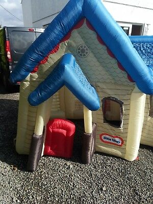 Little Tykes Inflatable  Victorian  Style House