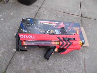 Pre-owned: NERF Rival ZEUS MXV - 1200 Team Red  BLASTER