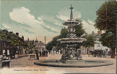 Postcard Frogmore Gardens High Wycombe Buckinghamshire J.Freer early 20th C.