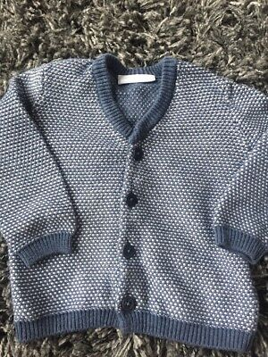 White Company 12-18 Months Blue Cardigan