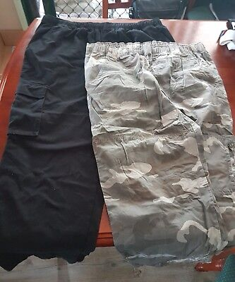 MENS Bulk Clothing 5XL Pants x 2